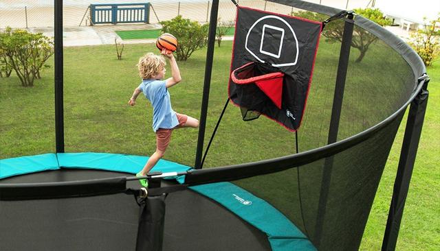 cama elastica con tabla basqueboll